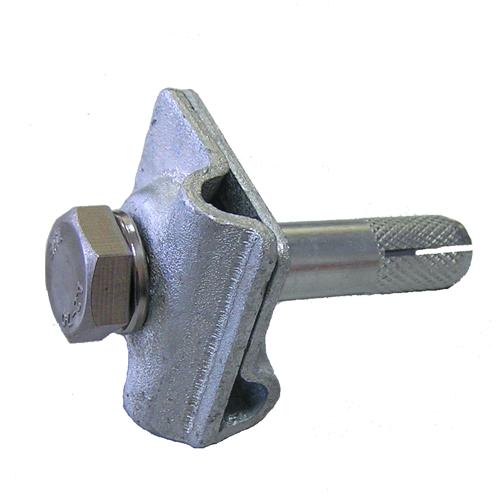 Зажим К1-ГЦ-01 для крепления и соединения токоотводов молниезащиты 8 мм