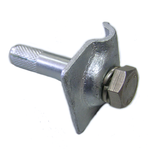 Клемма К1-01ГЦ для крепления токоотвода молниезащиты диаметром 8 мм
